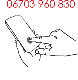 Rufen Sie mich an: 06703960830
